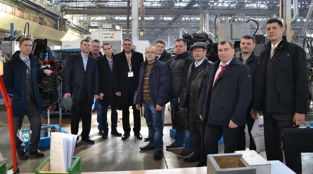 Экскурсия по производству ОМО